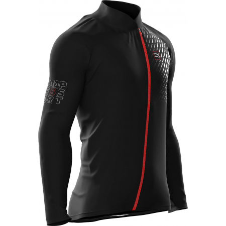 Men's running jacket - Compressport HURRICANE JACKET v2 - 3