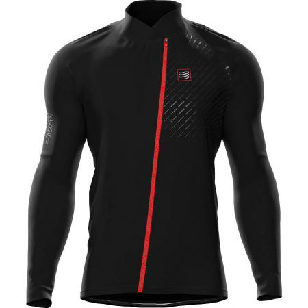 Men's running jacket - Compressport HURRICANE JACKET v2 - 1