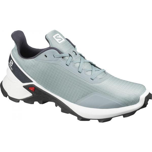 Salomon ALPHACROSS šedá 12 - Pánské běžecké boty