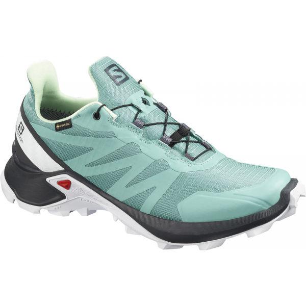 Salomon SUPERCROSS GTX W zelená 5 - Pánská trailová obuv