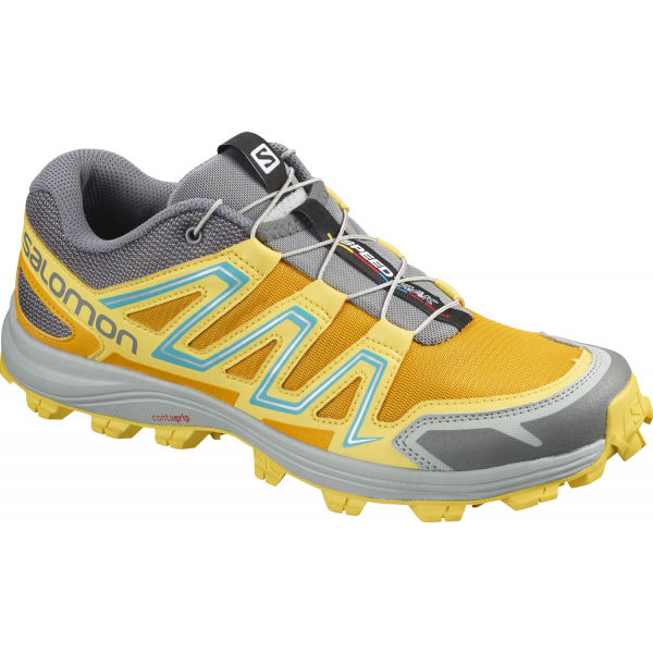 Salomon Speedtrak W žltá 6 - Dámska bežecká obuv
