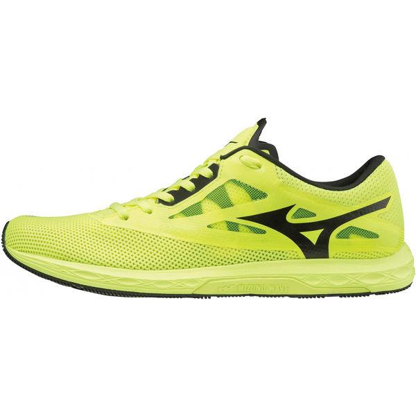 Mizuno WAVE SONIC 2 żółty 7.5 - Obuwie do biegania męskie
