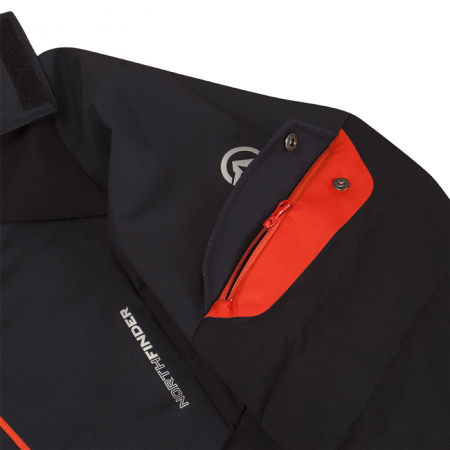 Men's ski jacket - Northfinder INDIGO - 4
