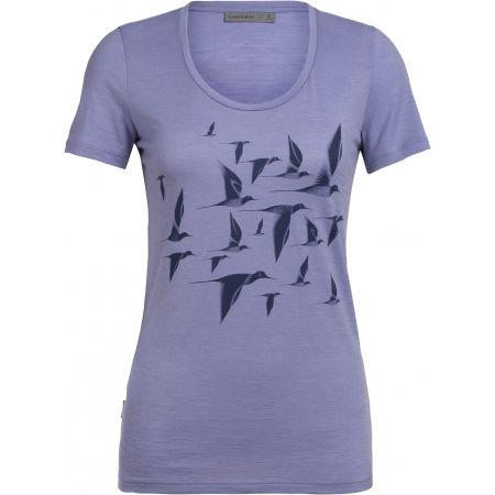 Dámske funkčné tričko - Icebreaker TECH LITE SS SCOOP POAKA W