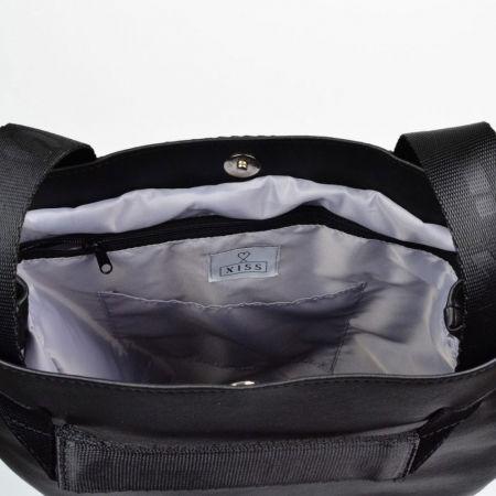 Městský batoh - XISS PLASHED BLACK CITY - 5