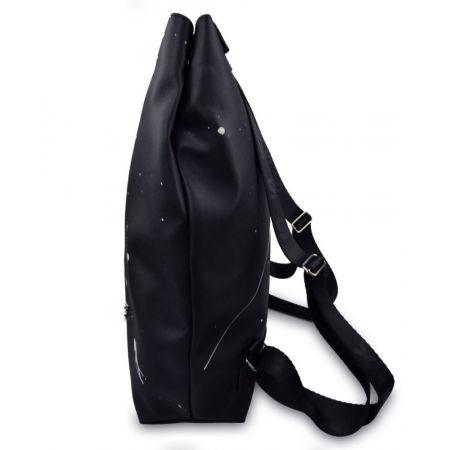 Městský batoh - XISS PLASHED BLACK CITY - 3