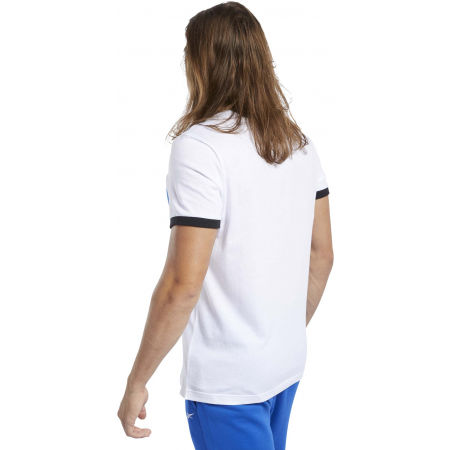 Férfi póló - Reebok TE LINEAR LOGO COLOR BLOCKED SS TEE - 5