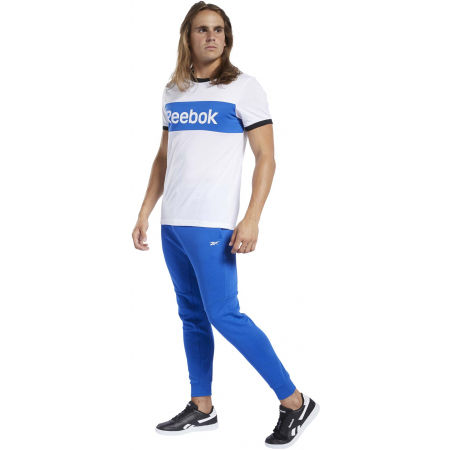 Férfi póló - Reebok TE LINEAR LOGO COLOR BLOCKED SS TEE - 4