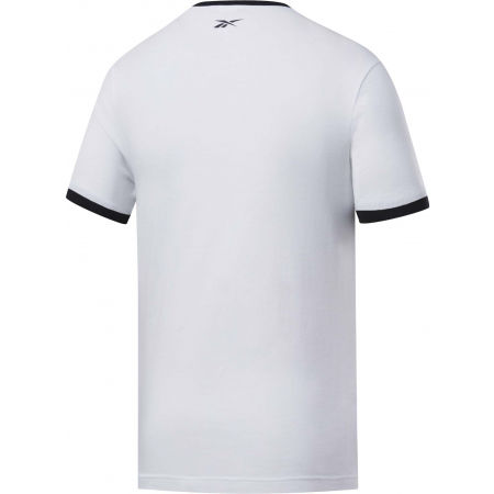 Men's T-shirt - Reebok TE LINEAR LOGO COLOR BLOCKED SS TEE - 2