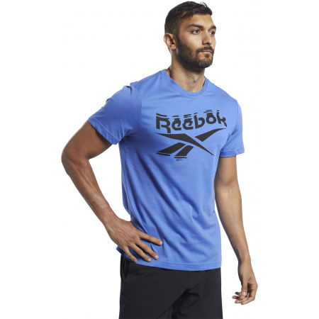 Men's T-shirt - Reebok GS BRANDED CREW TEE - 1