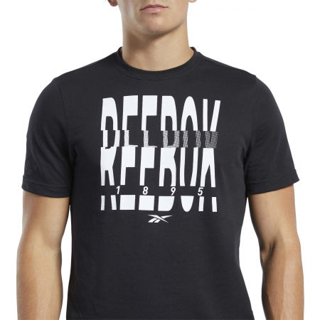 Men's T-shirt - Reebok GS REEBOK 1895 CREW TEE - 5
