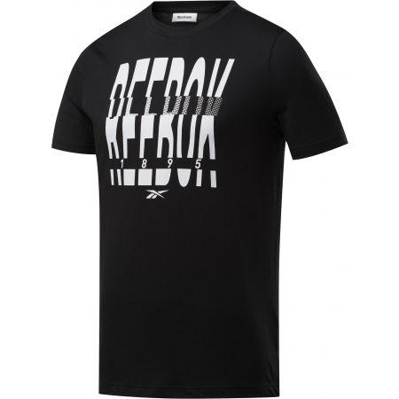 Reebok GS REEBOK 1895 CREW TEE - Tricou de bărbați