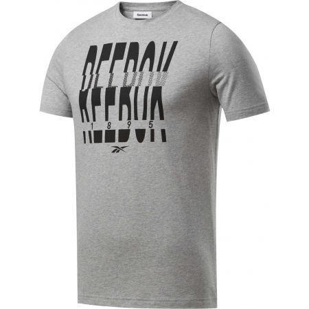 Reebok GS REEBOK 1895 CREW TEE - Pánske tričko