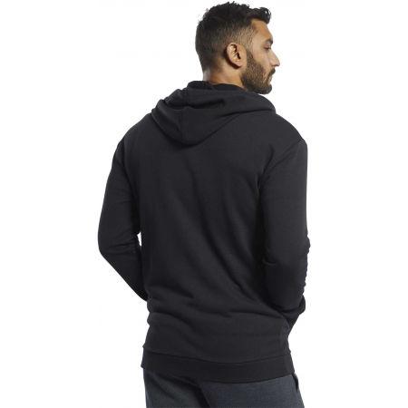 Men's sweatshirt - Reebok TE FT FZ HOODIE - 2