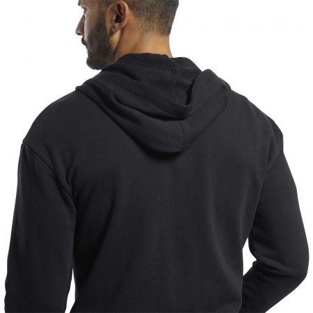 Men's sweatshirt - Reebok TE FT FZ HOODIE - 6