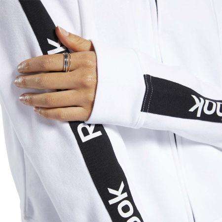 Női pulóver - Reebok TE LINEAR LOGO FULLZIP - 9