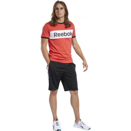 Мъжки къси панталони - Reebok TE LINEAR LOGO SHORT - 3