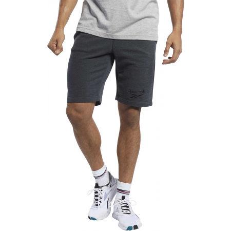 Shorts - Reebok TE MELANGE SHORT - 5