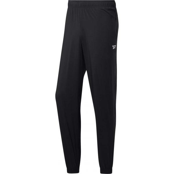Reebok TE WVN C LINED PANT černá 2XL - Pánské kalhoty