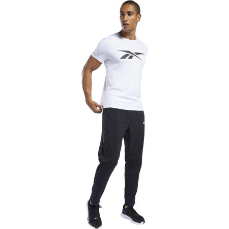Men's pants - Reebok WORKOUT WOVEN TRACKSTER PANT - 4