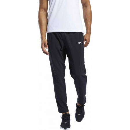 Men's pants - Reebok WORKOUT WOVEN TRACKSTER PANT - 2