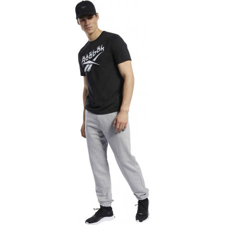 Men's sweatpants - Reebok TE FT CUFFED PANT - 4