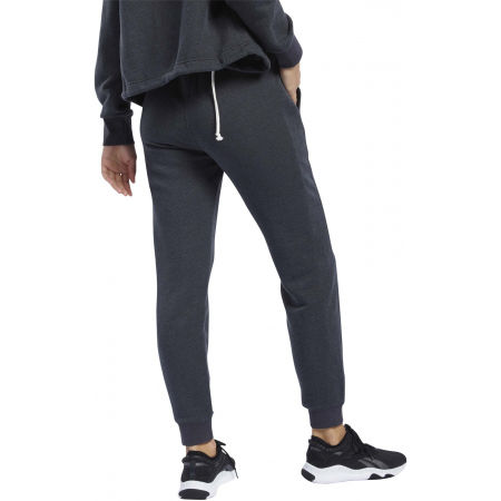 Women's sweatpants - Reebok TE TEXTURED LOGO PANT - 4