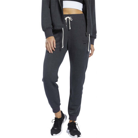 Women's sweatpants - Reebok TE TEXTURED LOGO PANT - 2