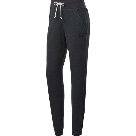 Women's sweatpants - Reebok TE TEXTURED LOGO PANT - 1