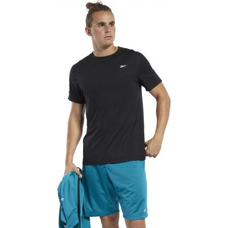 Мъжка тениска - Reebok WORKOUT SS TECH TEE - 3