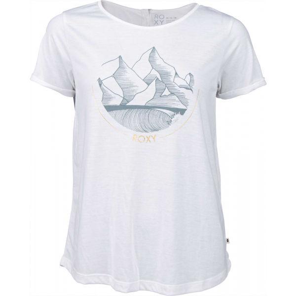 Roxy CALL IT DREAMING biela M - Dámske tričko