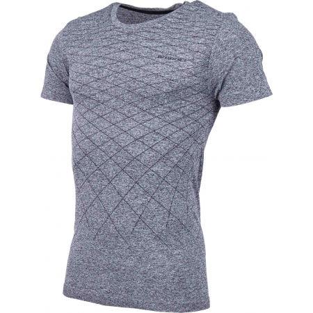 Pánské bezešvé triko - Arcore GREY - 2