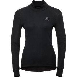 Odlo BL TOP TURTLE NECK L/S ACTIVE WARM - Tricou de damă
