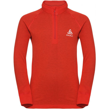 Odlo BL TOP TURTLE NECK L/S HALF ZIP ACTIVE WARM