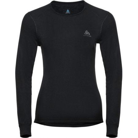 Tricou de damă - Odlo BL TOP CREW NECK L/S ACTIVE WARM - 1