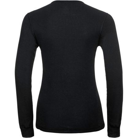 Tricou de damă - Odlo BL TOP CREW NECK L/S ACTIVE WARM - 2