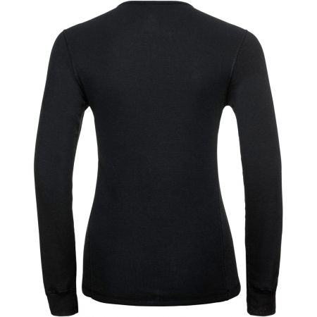 Koszulka damska - Odlo BL TOP CREW NECK L/S ACTIVE WARM - 2
