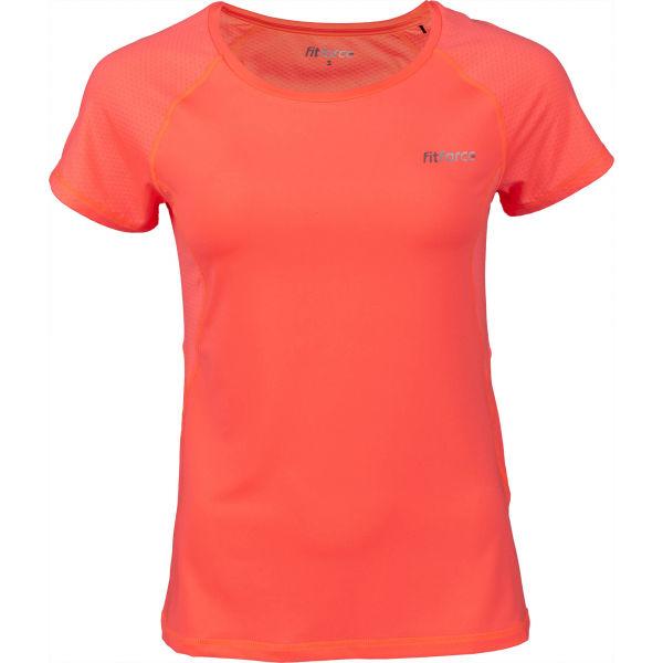 Fitforce JULIET oranžová XS - Dámské fitness triko