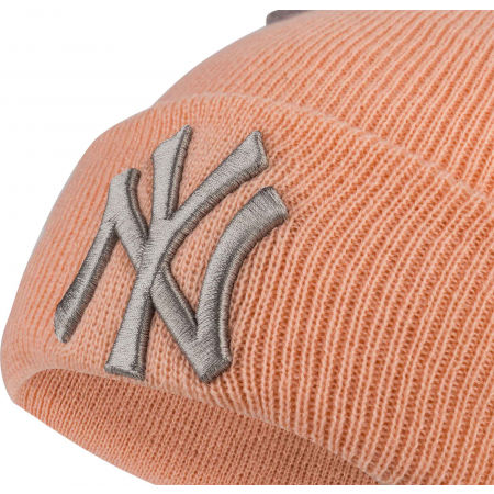 Dievčenská zimná čiapka - New Era MLB DOUBLE POM KNIT CUFF KIDS NEW YORK YANKEES - 2