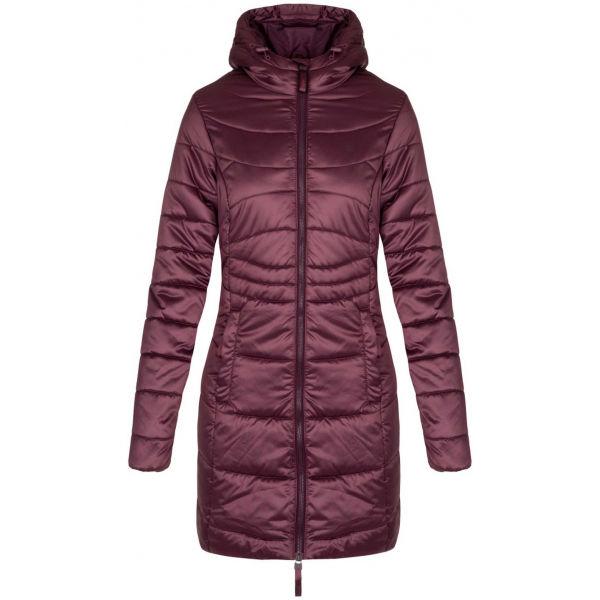 Loap TAKITA fialová L - Dámský zimní kabát
