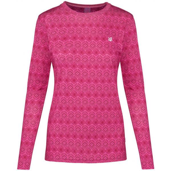 Loap PARIDA ružová M - Dámske funkčné tričko