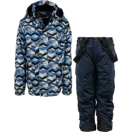 ALPINE PRO BOJORO - Children's ski set