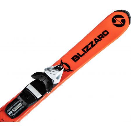 Dětské sjezdové lyže - Blizzard FIREBIRD JUNIOR ORANGE + TYROLIA SLR 4.5 - 4