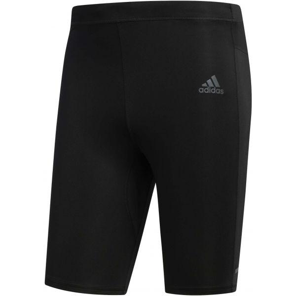 adidas OTR SHORT TGT čierna S - Pánske bežecké legíny