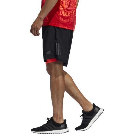 Pantaloni scurți alergare bărbați - adidas OWN THE RUN 2N1 - 4