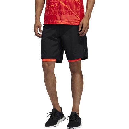 Pantaloni scurți alergare bărbați - adidas OWN THE RUN 2N1 - 3