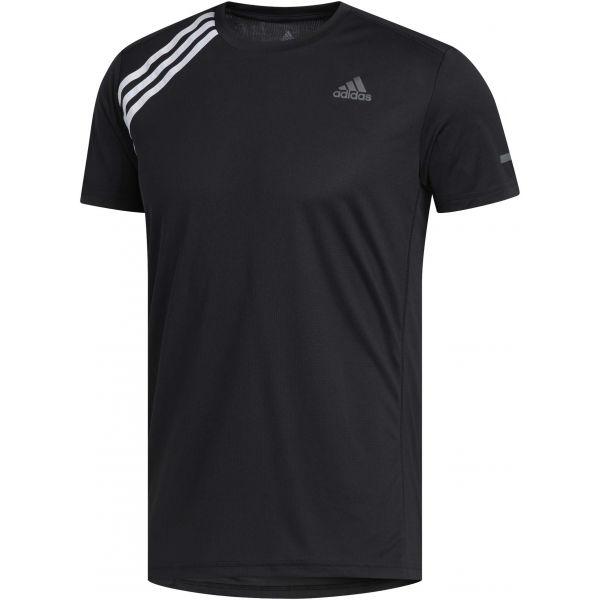 adidas OWN THE RUN TEE čierna M - Pánske bežecké tričko