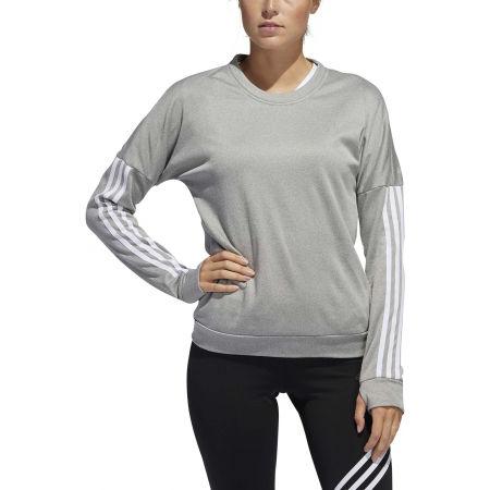 Dámske tričko s dlhým rukávom - adidas RESPONSE CREW W - 3