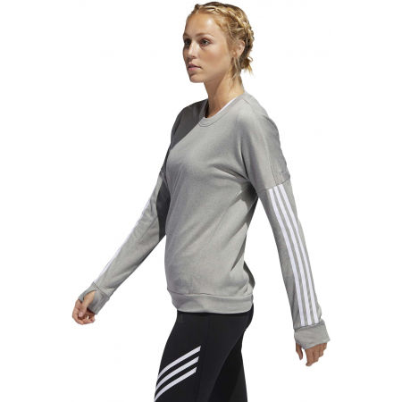 Dámske tričko s dlhým rukávom - adidas RESPONSE CREW W - 5
