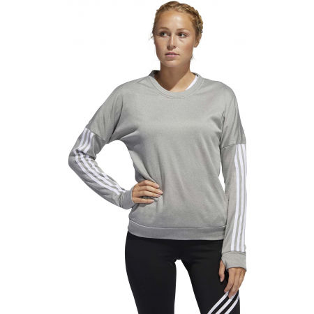 Dámske tričko s dlhým rukávom - adidas RESPONSE CREW W - 4